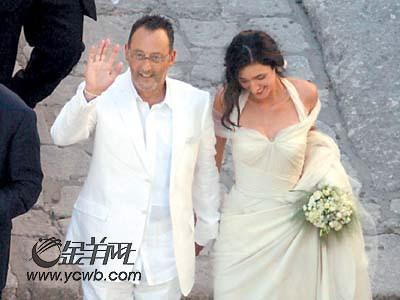 让-雷诺再做新郎时年58岁迎娶第三任妻子(图)