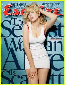 斯嘉丽被评在世第一性感美女