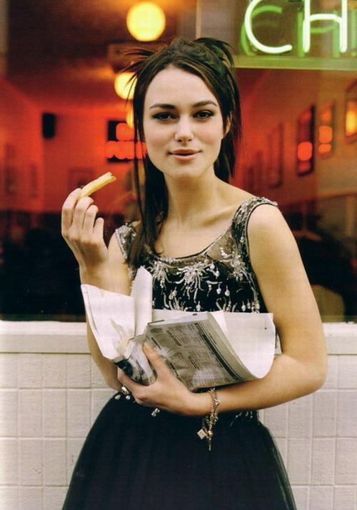 组图:凯拉奈特利登上时尚杂志性感清纯一线间