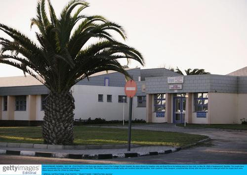组图:茱莉纳米比亚诞下千金私人生产医院曝光