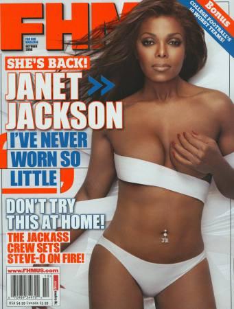 珍妮-杰克逊上杂志封面秀出自己最佳身材(图)