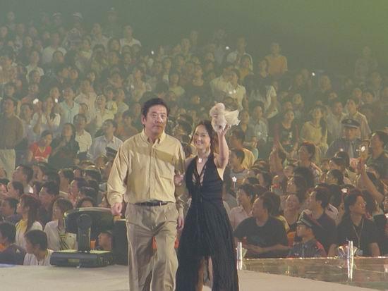 图文:第五届中国金鹰电视艺术节开幕式晚会(77)