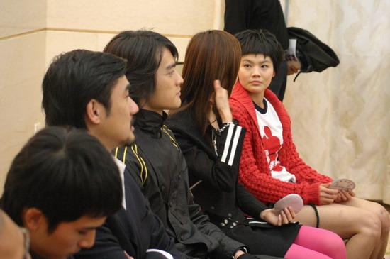 图文:《篮球部落》在人民大会堂举行发布会(7)