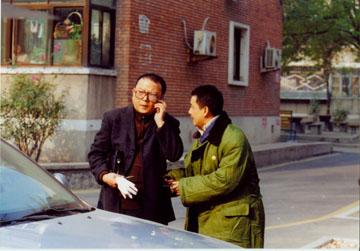 王刚王姬霍思燕英壮贺岁剧《六面埋伏》剧照
