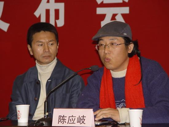 组图:《国家机密》南京拍摄吴若甫鲍国安加盟