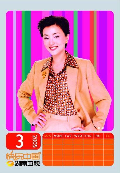 资料图片:湖南卫视群星贺岁--杨澜