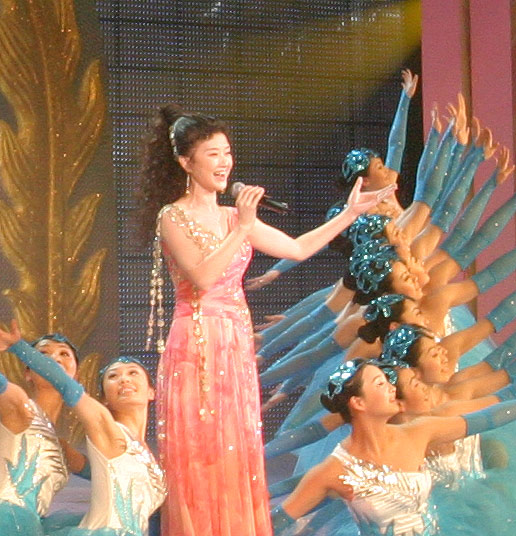图文:春节晚会首录备播带-歌舞演唱