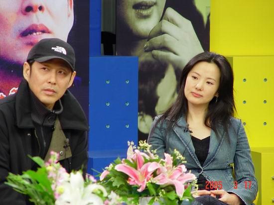 图文:《中国式离婚》卫视首映礼-陈道明和咏梅