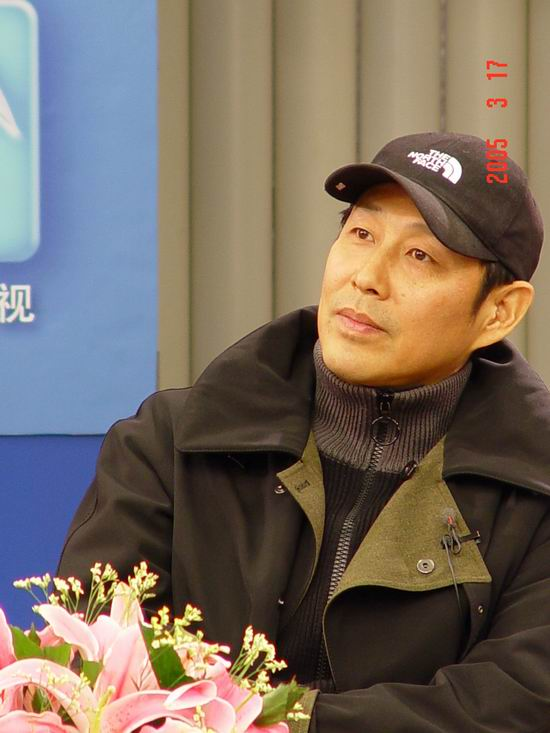 图文:陈道明出席《中国式离婚》卫视首映礼