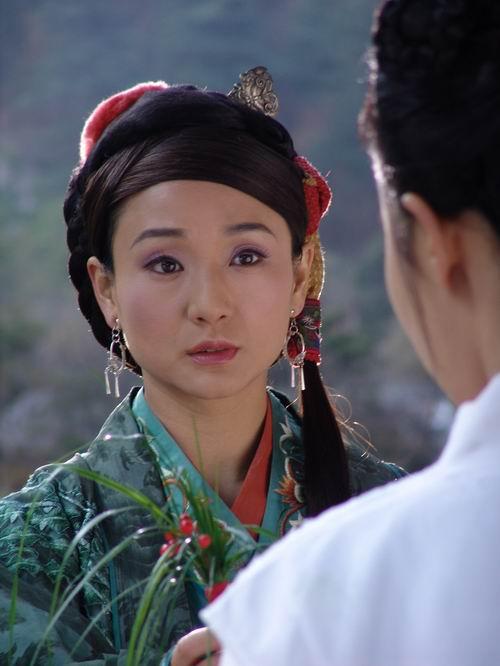 资料图片:《神雕侠侣》黄蓉扮演者--孔琳