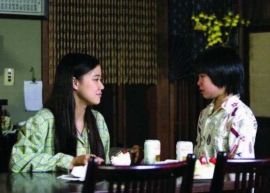 上海电视节参赛片--日本剧《最后的礼物》(图)