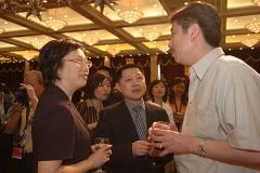 组图:上海国际电影电视节盛情举办欢迎酒会