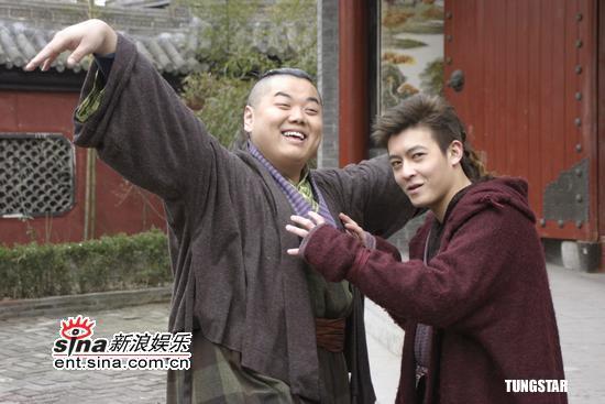 拳脚:陈冠希首演电视剧《八大豪侠》大展图文(11)致最新电视剧图片