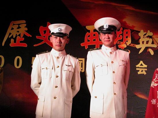 图文:《逐日英雄》再现民族抗战史歌--聂远与王斑
