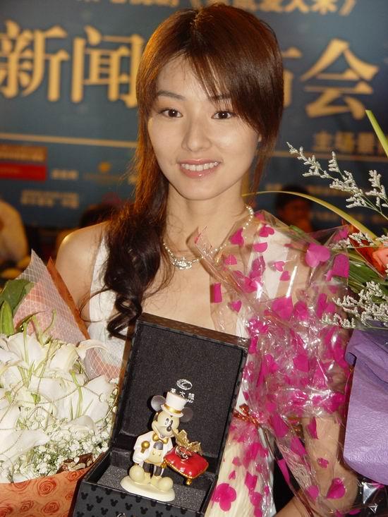 图文:《老鼠爱大米》杭州亮相-女主角陈怡蓉