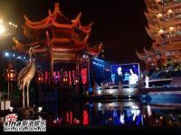 组图:央视双语中秋晚会侯佩岑主持萧蔷献唱