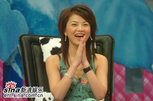 资料图片:李湘做客《娜可不一样》之节目现场