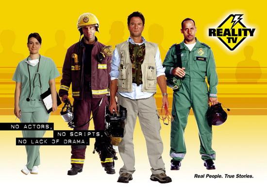 资料图片:《真实电视》(RealityTV)宣传海报