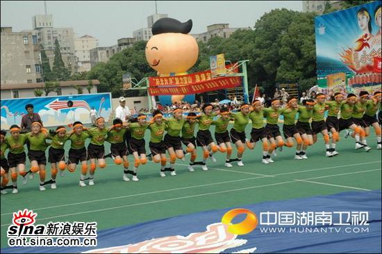 资料图片:《阳光伙伴》上海赛区现场图片(2)