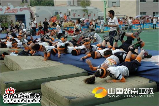 资料图片:《阳光伙伴》上海赛区现场图片(4)