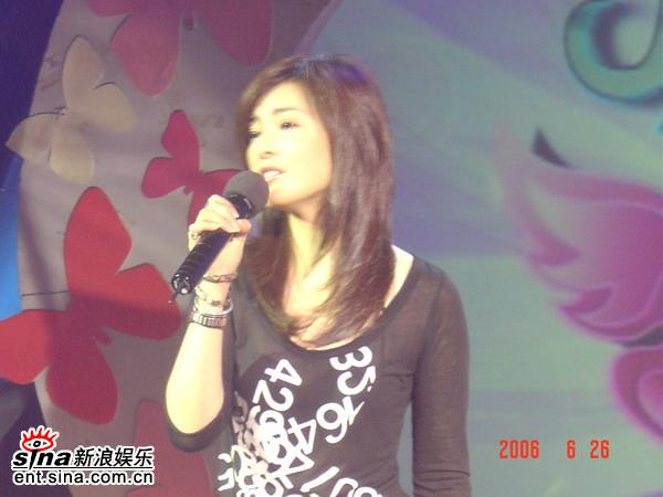 资料图片:《化蝶》最新节目录制现场(2)