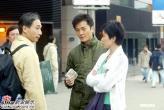 组图:佘诗曼郑伊健首次合作亮相《随时候命》
