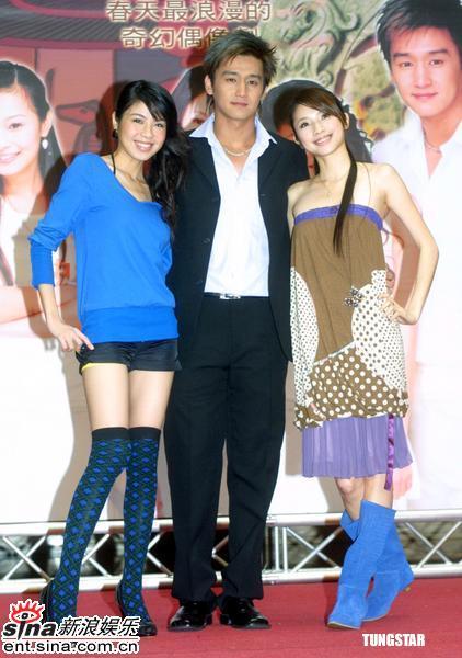 张天霖许玮伦等出席《双璧传说》宣传活动(图)