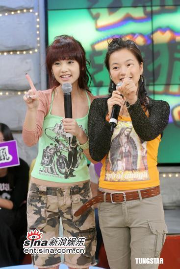 组图:杨丞琳录节目猛NG阿雅说话三级笑料百出