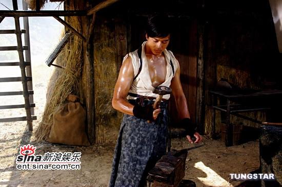 11月1日最酷男星:陈晓东《砚道》化身打铁武士