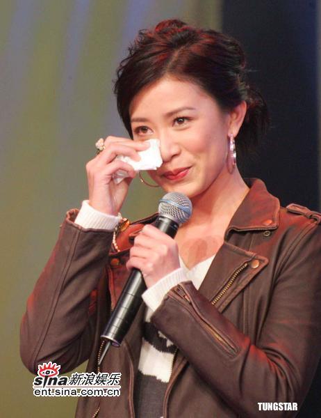 组图:《金枝欲孽》长沙宣传林保怡遭胖妞强吻