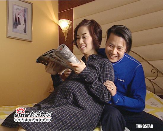 组图:陈松伶拍《女人多自在3》生孩子演技精湛