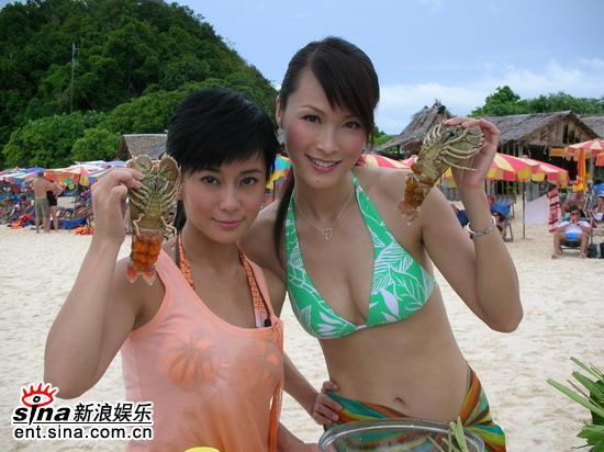 泰国与大哥曾志伟拍摄《美女厨房》
