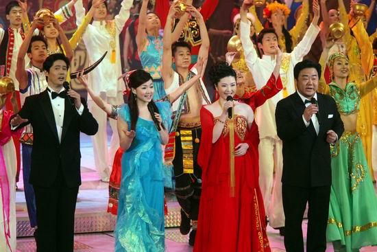 图文:春节晚会首录备播带-四人联唱