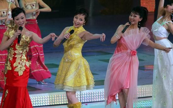 图文:春节晚会首录备播带-歌舞表演