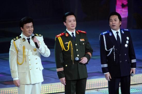 图文:春节晚会首录备播带-阎维文吕继宏佟铁鑫