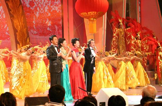图文:2005年中央电视台春节联欢晚会隆重登场