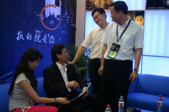图文:第11届上海电视节各公司展台(7)
