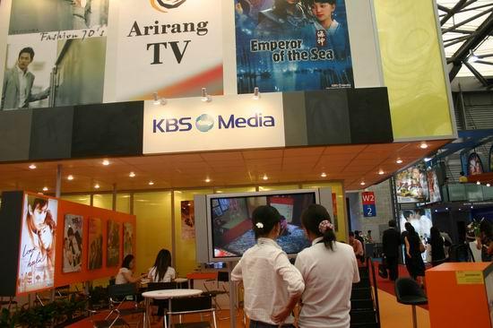 图文:第11届上海电视节各公司展台(28)