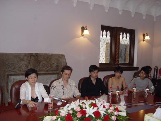 组图:李少红《绝对隐私》举行首播新闻发布会