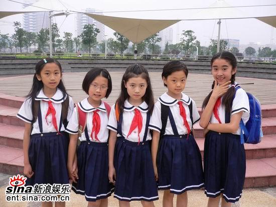 剧中五个小美女演员  点击此处查看全部娱乐图片