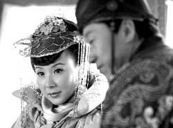 """萧蔷首演反派记者问年龄美人要""""斩人""""(图)"""