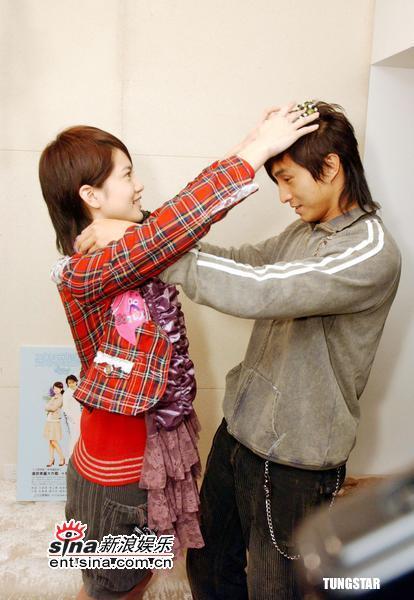 组图:王绍伟曾之乔《爱情魔发师》改造粉丝