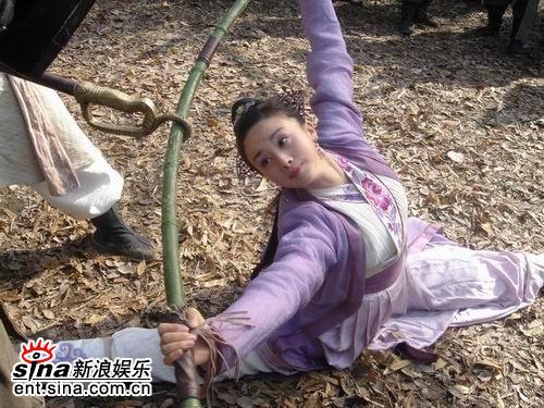 孙菲菲拍《碧血剑》打戏称导演骂人像老爸(图)