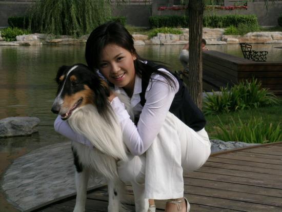 刘涛刘亦菲聂远贺岁剧《阿宝的故事》给狗捧场