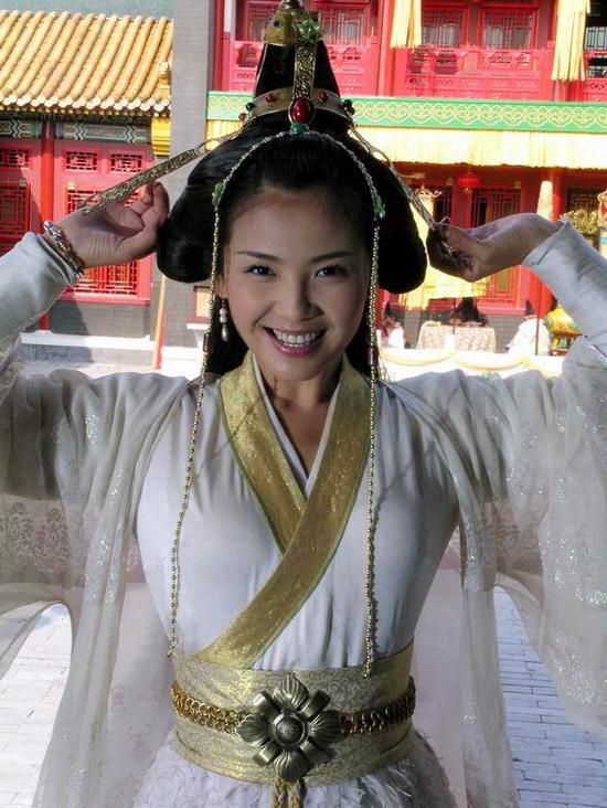 刘涛手脚并用《永乐英雄儿女》演野蛮公主(图)