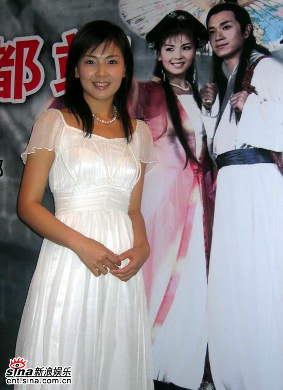 《白蛇传》成都宣传新白娘子刘涛纯美亮相(图)