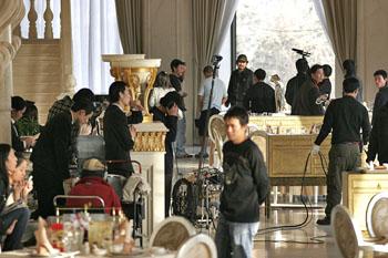海岩《五星饭店》将杀青不计成本营造视觉盛宴