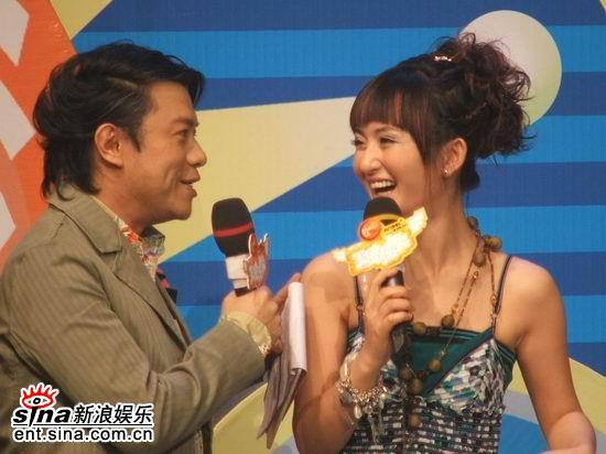 谢娜主持《天使任务》获得偶像蔡康永赞赏(图)