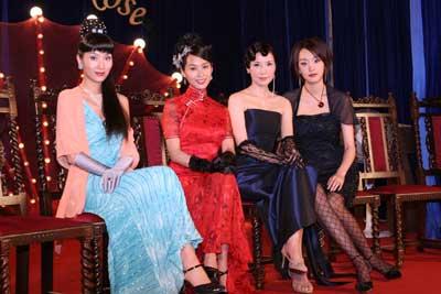 《暴雨梨花》新闻发布会王晶掌管五个女人命运
