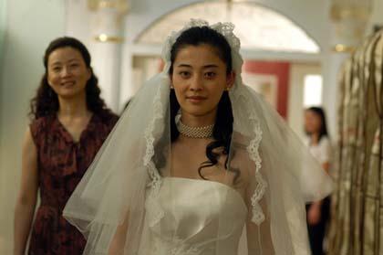 《你一定要幸福》拍结婚重头戏梅婷婚纱照曝光
